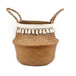 Large boho basket